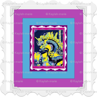 FANTASY CAROUSEL PHOTOFRAME MULTICOLOR