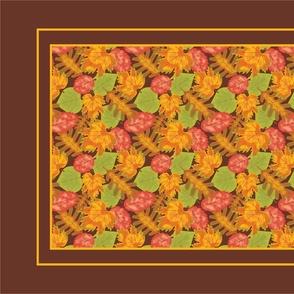 Autumn Leaves Tea Towel