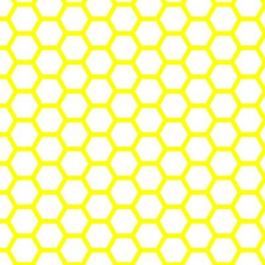 Hive - Yellow and White