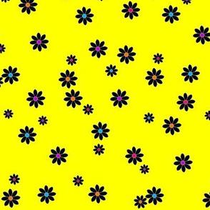 Buzz Bee Yellow Flowers