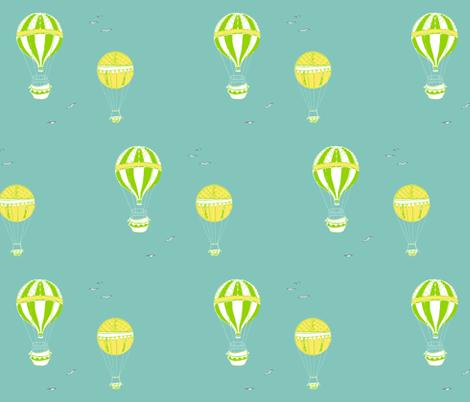balloons fabric by stephaniejones on Spoonflower - custom fabric