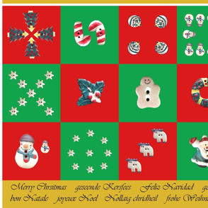 ChristmasButtonNapkins