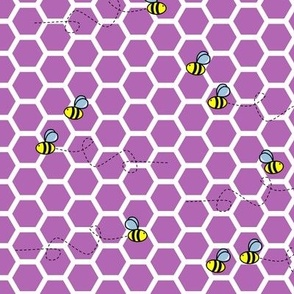 Buzz Bee Hive - Purple