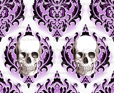 SkullDamask