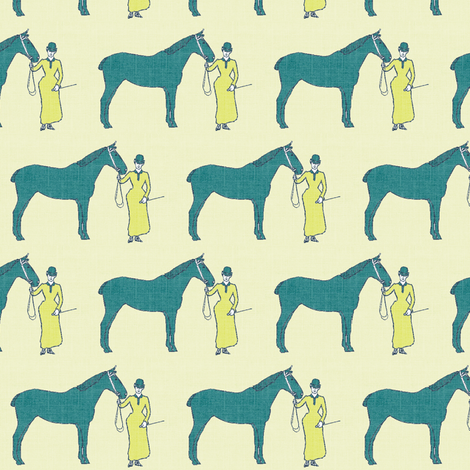Green hunter fabric by ragan on Spoonflower - custom fabric
