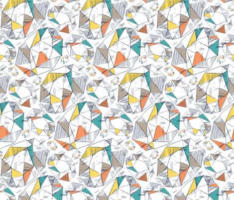 Diamond Shakes fabric by samossie on Spoonflower - custom fabric