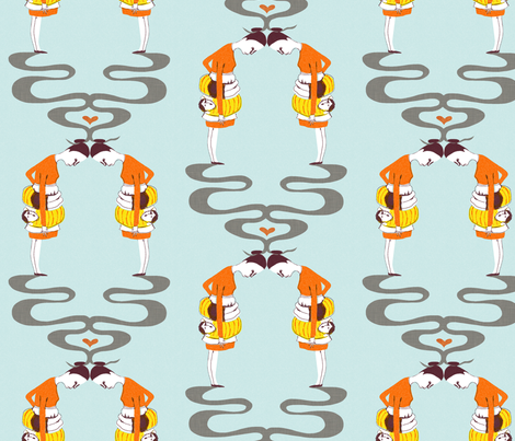 snake.... fabric by mummysam on Spoonflower - custom fabric