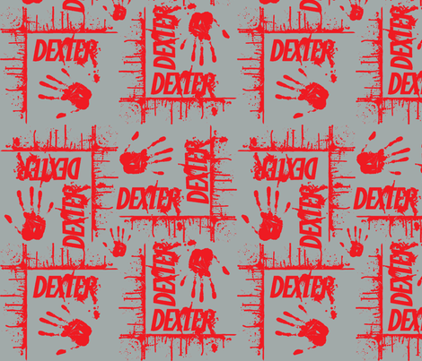 dexter_grey fabric by susiprint on Spoonflower - custom fabric
