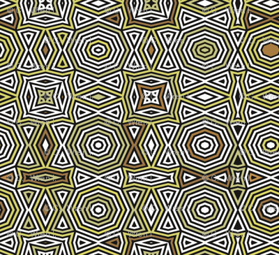 Op Art Octagonal