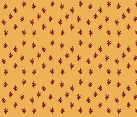Golden Fall fabric by rockriverstitches on Spoonflower - custom fabric