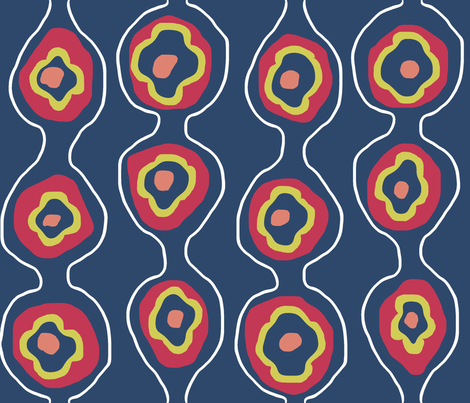Matisse  fabric by european-skies on Spoonflower - custom fabric
