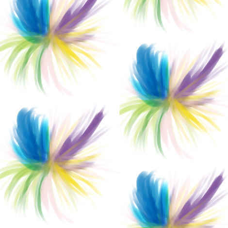 Flare fabric by inkwolf on Spoonflower - custom fabric