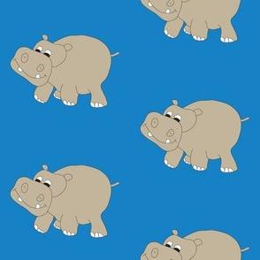 Hippo-Blue