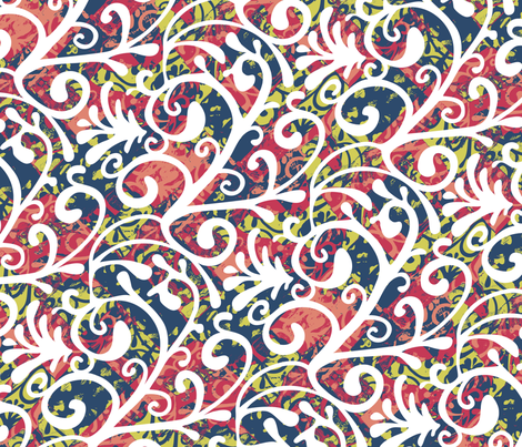 Messy Matisse fabric by kezia on Spoonflower - custom fabric