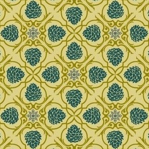 pine damask