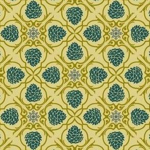 pine damask
