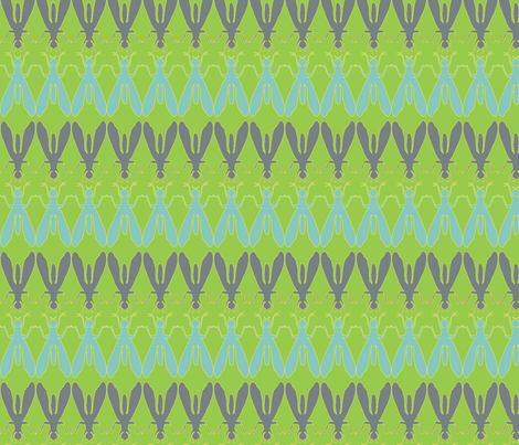 Fly of Fancy fabric by hippylongstockings on Spoonflower - custom fabric