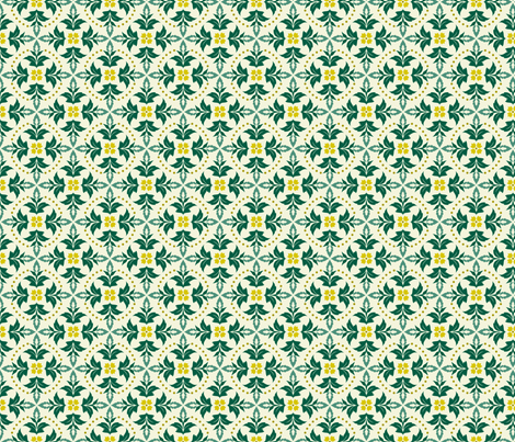 leaf me wanting more fabric by brandbird on Spoonflower - custom fabric