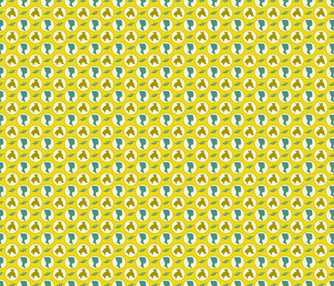 ready for my cameo fabric by brandbird on Spoonflower - custom fabric