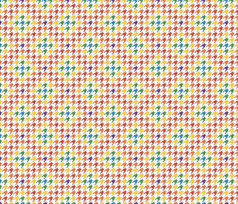 Tiny Bright Houndstooth