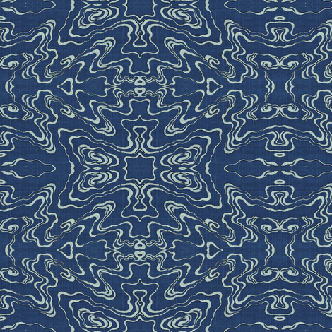ripple - blue pools fabric by materialsgirl on Spoonflower - custom fabric