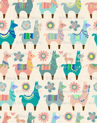 Llama Fun - Small Scale