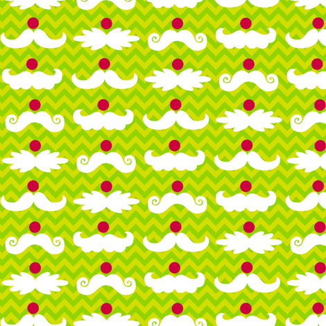 Santa_Staches_6 fabric by wrapartist on Spoonflower - custom fabric