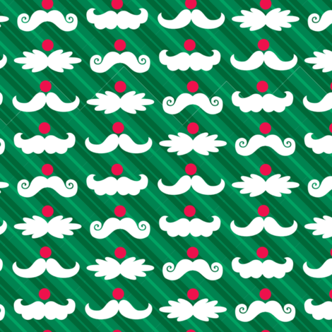 Santa_Staches_3 fabric by wrapartist on Spoonflower - custom fabric