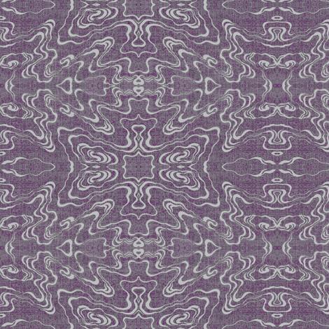 Ripple - plum fabric by materialsgirl on Spoonflower - custom fabric