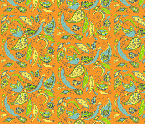 fancy_paisley fabric by kerryn on Spoonflower - custom fabric