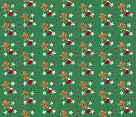 Cookies fabric by arttreedesigns on Spoonflower - custom fabric