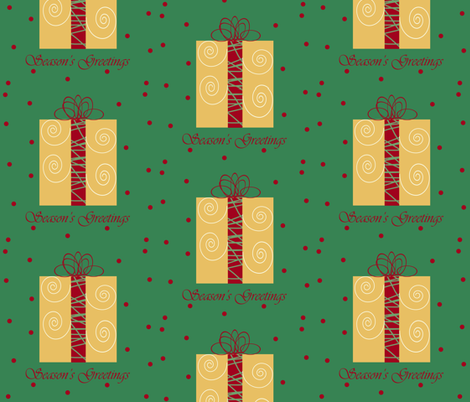 Presents fabric by arttreedesigns on Spoonflower - custom fabric