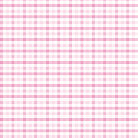 Pink check fabric by little_fish on Spoonflower - custom fabric