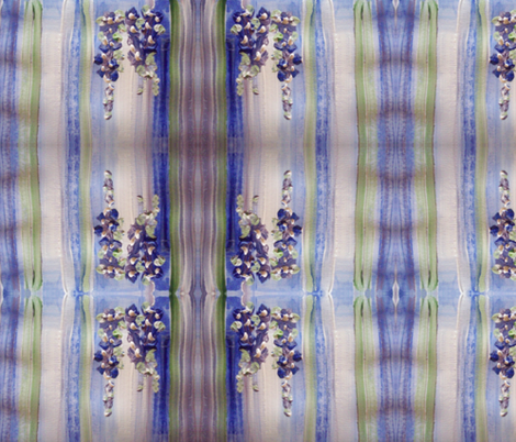 Blue regency stripe fabric by myartself on Spoonflower - custom fabric