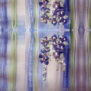 Blue regency stripe