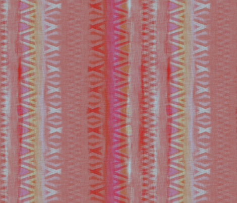 Mauve and Red Diamonds fabric by wren_leyland on Spoonflower - custom fabric