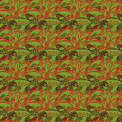 Spawn fabric by nefernika on Spoonflower - custom fabric