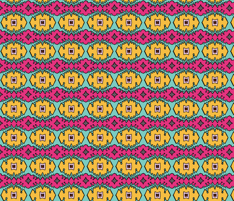 Sharktooth Vamped fabric by jara_by_jacki on Spoonflower - custom fabric