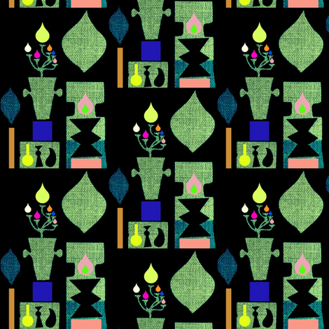 Festival of Lights fabric by boris_thumbkin on Spoonflower - custom fabric