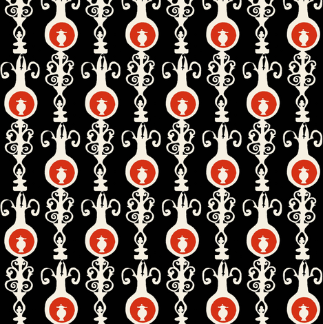 Regency Stripes fabric by boris_thumbkin on Spoonflower - custom fabric