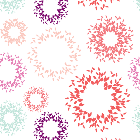 Bursts fabric by kelly_ventura on Spoonflower - custom fabric