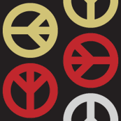 Peace Wave - Gold