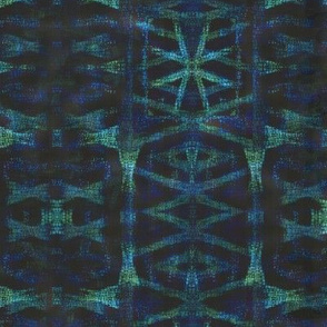Northern Blue Ikat