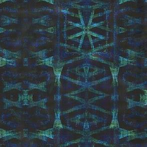 Northern Blue Ikat