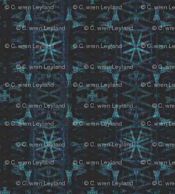 Northern Blue Ikat Irregularities