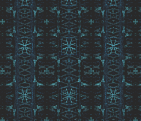 Northern Blue Ikat Irregularities