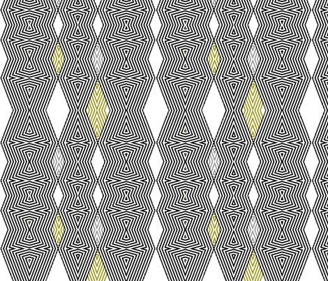 op art diamonds fabric by wren_leyland on Spoonflower - custom fabric