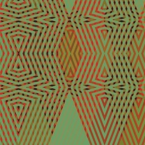 op-art-green-red