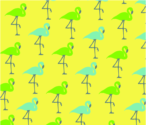 Flamingo Fabric fabric by aaffishface on Spoonflower - custom fabric
