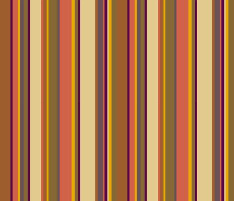 Fourth Doctor Scarf Stripes fabric by mongiesama on Spoonflower - custom fabric